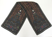 VINTAGE 1970s 80s BOTTEGA VENETA SILK SCARF MYSTIC WOMAN MOONLIGHT MUSHROOMS