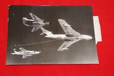 AVIATION DOUBLE RAVITAILLEMENT VICTOR VIXON MK II  BUCCANEER  PHOTO 1965  MD246