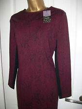 Coast Winter Dress Size 18 Merlot BNWT RRP £95