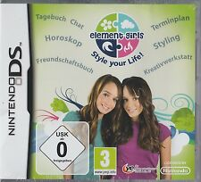 Element Girls: Style Your Life! - Nintendo DS - Neu und originalverpackt