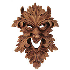Leafman Mask Wall Plaque - Dryad Designs - Wicca Pagan Wicca - Celtic Greenman