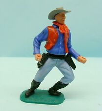 BRA14/1737 TIMPO TOYS / GT BRITAINS / FAR WEST / COW BOY GILET ROUGE 54 MM