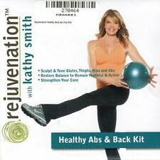 Pilates Ball EXERCISE DVD - Kathy Smith Rejuvenation Healthy Abs and Back DVD