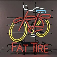 Bike Fat Tire NEON LIGHT SIGN Display Garage STORE BEER BAR CLUB Signage 17x14""
