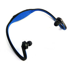 Sport Wireless Headset MP3 Player Micro TF SD Slot FM Radio Headphone Earphone