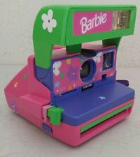Barbie Polaroid 600 with Matching Stickers - NICE