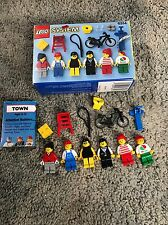 LEGO Vintage Town Set 6314 - City People - w/ Box Minifigs