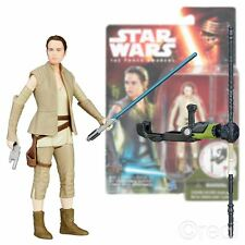 "New Star Wars The Force Awakens 3.75"" Rey Figure Resistance Outfit Official"