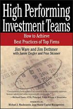 High Performing Investment Teams How Achieve Best Practices Top Firms by Ware Ji
