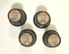 Jack Daniel's Guitar Knobs, Jack Daniels logo volume Guitar Knobs, JD knobs