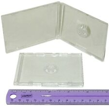 (800) CDBS48CLBC Business Card CD Jewel Boxes Cases Ultra Thin 4mm Replacements