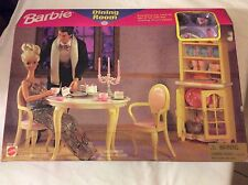 NEW BARBIE Folding Pretty House DINING ROOM Set #67551-91 new in box sealed