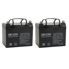 UPG 2 Pack - 35AH 12V DC DEEPCYCLE SLA SOLAR ENERGY STORAGE BATTERY