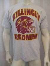 NEW 50/50 BEST TRUE VINTAGE KILLINGLY RED MEN CREW NECK T-SHIRT SZ L VIC-THOR1