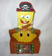 VIACOM Sponge Bob Square Pants ALARM CLOCK AND BANK 2006