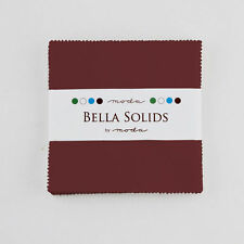 "Moda Charm Pack - Bella Solids Kansas Assortment - 42 x 5"" squares"