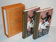 Folio Society The Greek Myths Volume I & II By Robert Graves Excellent Condition