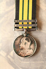 BRITISH ARMY MILITARY AFRICA GENERAL SERVICE MEDAL ARO NIGERIA BAR GSM EDVII