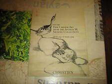 CHRISTIES CATALOGUE FINE CHINESE ART FROM THE ARTHUR M SACKLER COLLECTION