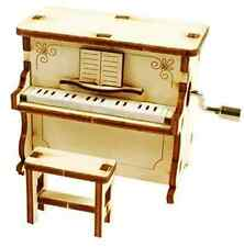 Piano Music Box / Orgel / WOODEN MODEL KIT