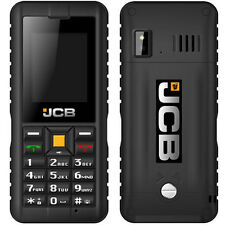 New Genuine JCB Toughphone Tradesman 2 SIM Free/Unlocked Mobile Phone - Black