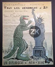JEAN BOULLET Ombres chinoises BENAYOUN Diplodocus à New York Cinémathèque 1940s