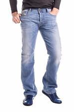 MENS DIESEL ZATINY WASH 0RJ00_STRETCH Faded Bootcut Jeans Denim W29 L32