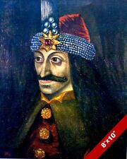 VLAD TEPES THE IMPALER DRACUL DRACULA PORTRAIT PAINTING ART REAL CANVAS PRINT