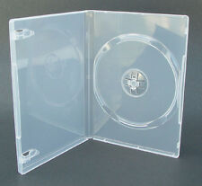 25 Genuine Clear Amaray Single DVD Cases