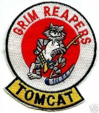 USN VF-101 GRIM REAPERS F-14 TOMCAT EMBROIDERED PATCH