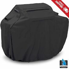 "BBQ Gas Grill Cover Black 58"" Barbecue Heavy Duty Waterproof Outdoor Weber Lower"