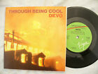 DEVO THROUGH BEING COOL RACE OF DOOM virgin vs 450 poster sleeve 45rpm / punk