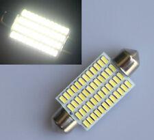 12V Bright White 42mm 48 LED 3014 SMD Car Interior Light Festoon Dome Bulbs Lamp