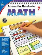 Interactive Notebooks: Math, Grade 7 by Kathryn Kee Daughtrey (2016, Paperback)