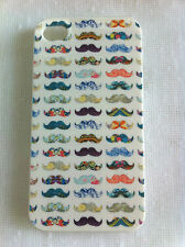 Colourful Moustache Art Printed iPhone 4/4S Case Back Cover Case for iPhone 4S