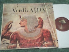 HIGHLIGHT FROM VERDI AIDA MILANOV PERLEA OTHERS RCA LM 2046 FIRST ISSUE 1S/1S
