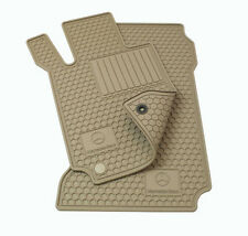 OEM GENUINE MERCEDES BENZ BEIGE ALL SEASON FLOOR MATS E-CLASS SEDAN W212 10-16