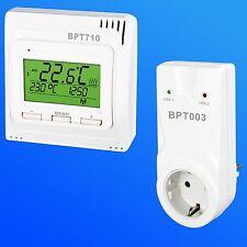 Thermostat Funk -Set UTQ CZ Steckdose mit Zeiteinstellung für Elektroheizung