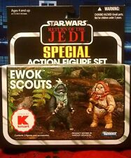 Star Wars The Vintage Collection Ewok Scouts Special Figure Set Kmart MIP TVC