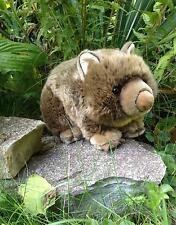 Stofftier Wombat Hermann der kleine weiche etwas dicke süße Kerl Australien 26cm