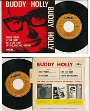 "BUDDY HOLLY 45 TOURS EP 7"" FRANCE READY TEDDY"