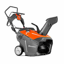 "Husqvarna ST111 Single Stage 21"" 136CC Compact Adjustable Snow Thrower Blower"