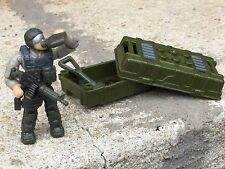Green Heavy Assault  Army Special Forces Machine Gunner Minifig Lot 129