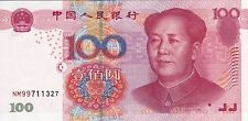 CHINA 100 Yuan (2005) 2nd Issue of Fifth Series Unc / Mao