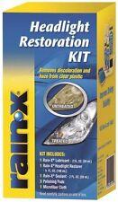 NEW RAIN-X 800001809 HEADLIGHT LENS RESTORATION RESTORER CLEANER FULL KIT SALE