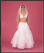 Medium Full Plus Size Drawstring Bridal Petticoat Wedding Gown Slip X-Large