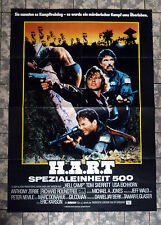 H.A.R.T. / Opposing Force * A1-FILMPOSTER Kino - German 1-Sheet ´86 Hellcamp