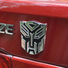 TOP 3D Logo Protect Autobot Transformers Emblem Badge Graphics Decal Car Sticker