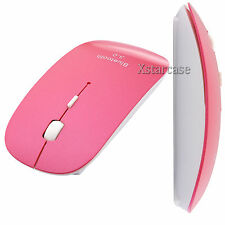 Slim Rose Wireless Bluetooth 3.0 Mouse Mice 1600 DPI for PC Android 4.0+ Tablet