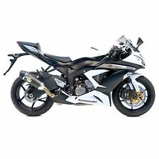 09-15 ZX6R/636 Leo Vince SBK LV One Evo II Carbon Fiber Slip On Exhaust 8747